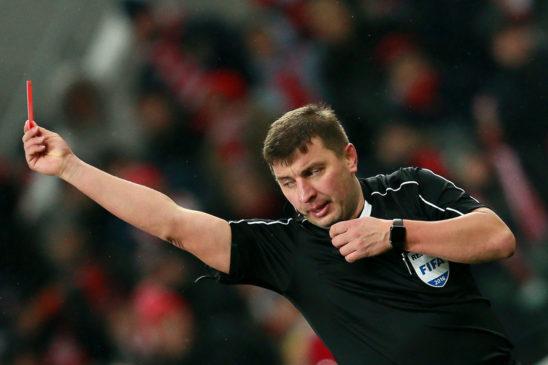 Судья Вилков прокомментировал свои решения по спорным эпизодам матча «Спартак» – «Локомотив»