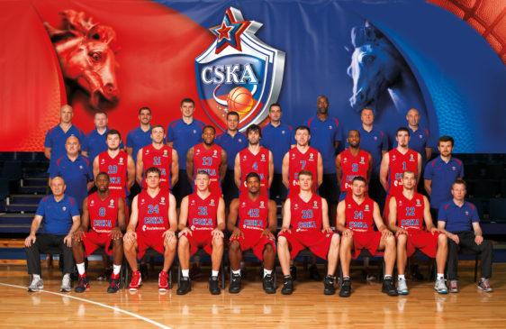 Клуб ЦСКА проведет матч в борьбе за путевку в ¼ финала баскетбольной Евролиги