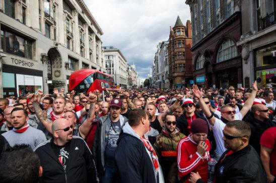 УЕФА будет расследовать дело о беспорядках во время футбольного матча «Арсенал» – «Кельн»