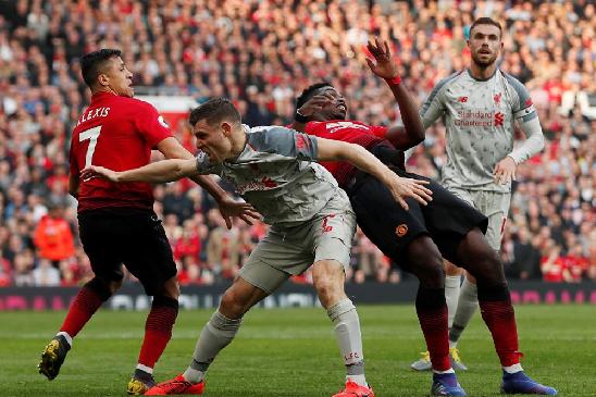 Английская Премьер Лига 2019/20. Тур 9. «Манчестер Юнайтед» — «Ливерпуль»